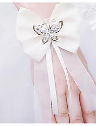 abordables -Fleurs de mariage Petit bouquet de fleurs au poignet Mariage / Soirée / Fête Soie 0-10 cm