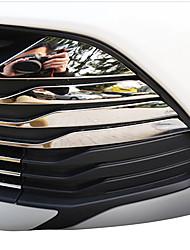 Недорогие -19pcs Автомобиль Отделка передней решетки автомобиля Деловые Тип пасты For Нижняя часть передней решетки For Toyota Vios 2017