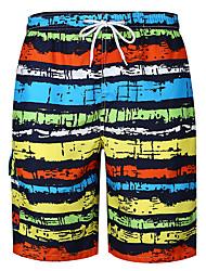 お買い得  -男性用 活発的 / ベーシック ショーツ パンツ ストライプ