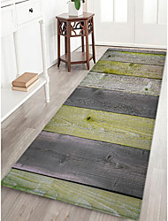 cheap -Creative Sports & Outdoors Country Doormats Area Rugs Flannelette, Superior Quality Rectangle Striped Lines / Waves Rug
