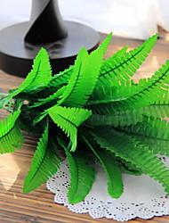 abordables -Fleurs artificielles 1 Une succursale Rustique Plantes Arbre de Noël