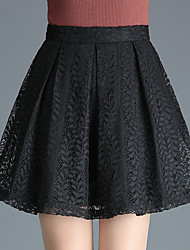 cheap -Women's Active A Line Skirts - Solid Colored