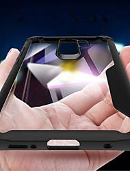 baratos -Capinha Para Samsung Galaxy S9 Plus / S9 Antichoque / Espelho / Transparente Capa traseira Sólido Macia Silicone para S9 / S9 Plus / S8 Plus