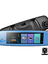 baratos -E06 1080p Visão Nocturna DVR de carro 140 Graus Ângulo amplo 7.85 polegada IPS Dash Cam com GPS / G-Sensor / Gravação em Loop Gravador de