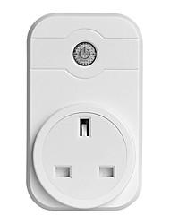 Недорогие -Розетка / Smart Plug Функция синхронизации / Диммируемая / Управляйте своим устройством из любого места 1шт ABS + PC / 750 ° С / анти-огнестойкий Дистанционное управление / ПРИЛОЖЕНИЕ / Andriod 4.2