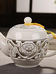 cheap -1pc Ceramic Coffee and Tea Heatproof / Cool ,  17*8*12cm