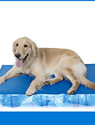 cheap -Pets Gasket Pet Mats & Pads Solid Colored Waterproof / Portable / Soft Blue For Pets