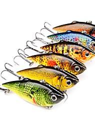 economico -6pcs pc Manovelle / Esca Esche rigide Plastica All'aperto Pesca a mulinello / Pesca con esca / Pesca dilettantistica