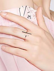 abordables -Femme S925 argent sterling Anneau ouvert - 1pc Mode / Coréen Or Bague Pour Valentin / Sortie