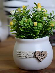 abordables -Flores Artificiales 1 Rama Elegante Plantas Flor de Mesa