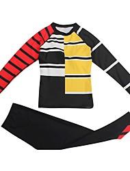 Недорогие -Жен. Танкини Пляжные шорты Однотонный / Контрастных цветов