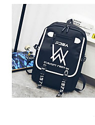 cheap -Women's Bags Oxford Cloth School Bag Zipper Black / Gray