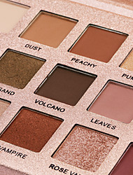 cheap -Makeup 18 Colors Eyeshadow / Eyeshadow Palette Eye / Dressing up Professional / Best Quality Waterproof Long Lasting Sweatproof Daily Makeup / Halloween Makeup / Party Makeup Makeup Cosmetic / Matte