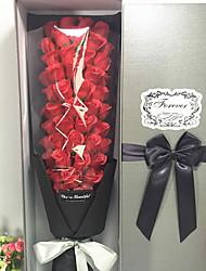 Недорогие -Искусственные Цветы 1 Филиал Свадебные цветы Розы Букеты на стол