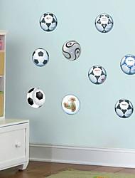 economico -Adesivi decorativi da parete - Adesivi aereo da parete Football americano Salotto Camera da letto Bagno Cucina Sala da pranzo Sala studio