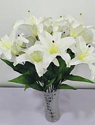 abordables -Fleurs artificielles 1 Rustique Lis Arbre de Noël