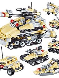 abordables -Blocs de Construction 348pcs Tank / Chasseur Tank / Chasseur Cadeau