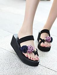 cheap -Women's Shoes EVA Summer Comfort Slippers & Flip-Flops Wedge Heel Blue / Light Blue / Blue+Pink