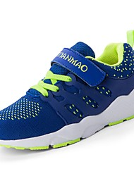 cheap -Boys' Shoes Knit / Fabric Summer Comfort Athletic Shoes Running Shoes / Walking Shoes Hook & Loop for Kids Blue / Black / Red / Black /