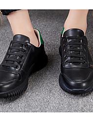 billige -Herre Sko Syntetisk Mikrofiber PU Forår Komfort Sneakers Sort / Lyserød og Hvid / Hvid og Grøn