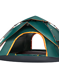 cheap -Sheng yuan 4 person Backpacking Tent Double Layered Automatic Dome Camping Tent One Room  Outdoor Rain-Proof 2000-3000 mm  for Camping / Hiking / Caving Oxford Cloth 220*230*140 cm