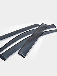 Недорогие -4шт Автомобиль Дефлекторы и щиты Тип пряжки For Автомобильное окно For Toyota Prado 2018 / 2017 / 2016