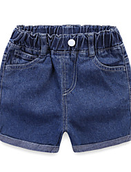 cheap -Kids / Toddler Girls' Solid Colored Shorts