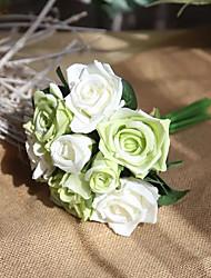 baratos -Flores artificiais 1 Estilo simples / Pastoril Estilo Rosas Flor de Mesa
