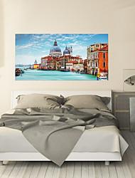 Недорогие -Декоративные наклейки на стены - 3D наклейки Пейзаж Гостиная / Спальня