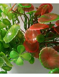Недорогие -Оформление аквариума / Waterproof Водное растение / Растения Украшение / Влажная чистка Пластик