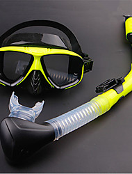 cheap -Snorkeling Set / Diving Package - Diving Mask, Snorkel - Antifog, Explosion-Proof, Soft Swimming, Diving, Snorkeling Silicone, PVC