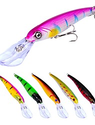 cheap -7pcs pcs Fishing Lures Hard Bait / Minnow Plastic Outdoor Bait Casting / Lure Fishing / General Fishing