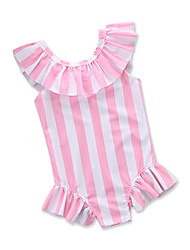 cheap -Kids / Toddler / Newborn Girls' Striped Sleeveless Swimwear