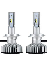 Недорогие -2pcs H7 Автомобиль Лампы 25W Интегрированный LED 3000lm 2 Светодиодная лампа Налобный фонарь For Volkswagen / Mercedes-Benz / Hyundai