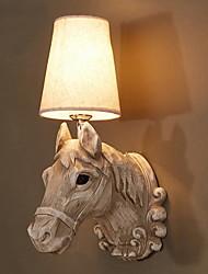 Недорогие -Cool Ретро Настенные светильники Гостиная / Спальня Смола настенный светильник 40W