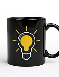 Недорогие -Drinkware Фарфор Кружка Термочувствительных изменения цвета / Теплоизолированные 1pcs