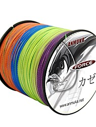 cheap -500M / 550 Yards PE Braided Line / Dyneema / Superline Fishing Line 80LB / 70LB / 60LB 0.1-0.5 mm mm 147 Jigging / Sea Fishing / Fly Fishing