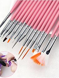 baratos -Ferramenta de Nail Art Escovas de unhas Design Moderno arte de unha Manicure e pedicure Comum Roupa Diária