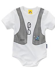 お買い得  -赤ちゃん 男の子 プリント 半袖 ボディスーツ