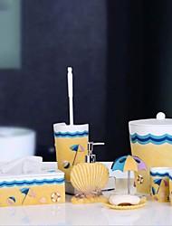 Недорогие -Набор аксессуаров для ванной Новый дизайн Современный Резина 8шт - Ванная комната Односпальный комплект (Ш 150 x Д 200 см)