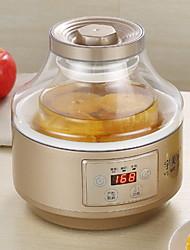 baratos -Yogurt Maker Novo Design / Legal vidro / PP / ABS + PC Máquina de iogurte 220-240 V 20 W Utensílio de cozinha