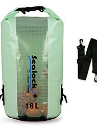 Недорогие -Sealock 18 L Водонепроницаемый сухой мешок Дожденепроницаемый, Пригодно для носки для Плавание / Дайвинг / Серфинг