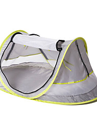 economico -1 persona Igloo da spiaggia Tende a igloo e canadesi Tenda pop-up Unico strato Tenda da campeggio Una camera  All'aperto Resistente ai raggi UV UPF50+ Repellenti anti-insetti <1000 mm  per Spiaggia
