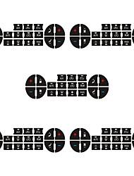 Недорогие -автомобильный Центровые стековые обложки Всё для оформления интерьера авто Назначение Toyota Универсальный Корона / оборотная сторона / Марк X