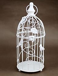 Недорогие -Простой стиль / Европейский стиль Железо Подсвечники На одну свечу 1шт, Свеча / подсвечник