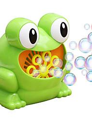 Недорогие -Мыльные пузыри Романтика / Лягушка Творчество / Автоматический / Веселая 1 pcs Детские Подарок