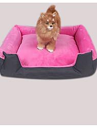 abordables -Perros / Conejos / Gatos Jaulas / Camas Mascotas Colchonetas y Cojines Moda / Británico Mini / Casual / Adorable Marrón / Rojo / Azul Para mascotas