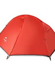 Недорогие -Naturehike 1 человек Туристические палатки Двухслойные зонты Карниза Сферическая Палатка На открытом воздухе Дожденепроницаемый, Быстровысыхающий, С защитой от ветра для 2000-3000 mm