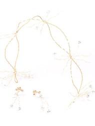 preiswerte -Aleación Stirnbänder mit Blume Ein Paar × 2 Hochzeit / Party / Abend Kopfschmuck