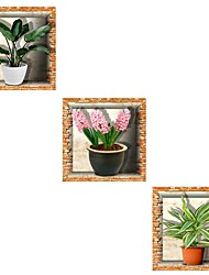 cheap -Decorative Wall Stickers - 3D Wall Stickers Floral / Botanical / 3D Dining Room / Study Room / Office